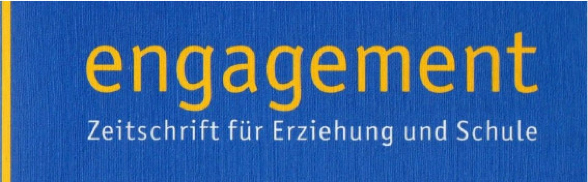 Image result for Engagement Zeitschrift für Erziehung und Schule